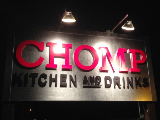 Man Fuel - a food blog - Chomp - Warren, RI