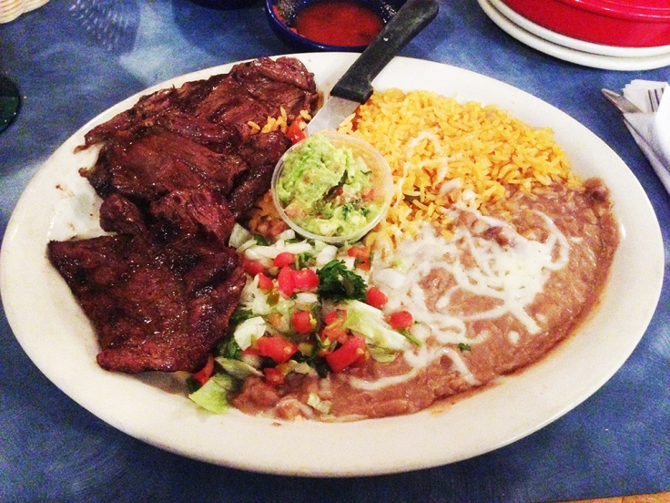 Man Fuel - a food blog - Fiesta Mexican Restaurant - Somerset, MA - Carne Asada