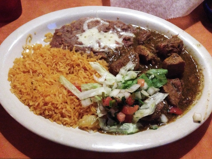Man Fuel - a food blog - Fiesta Mexican Restaurant - Somerset, MA - Chile Verde