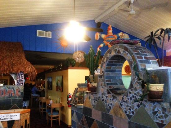 Man Fuel - a food blog - Fiesta Mexican Restaurant - Somerset, MA - Interior