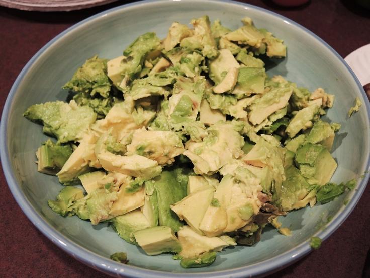 Man Fuel Food Blog - Guacamole - Avocoados in Bowl