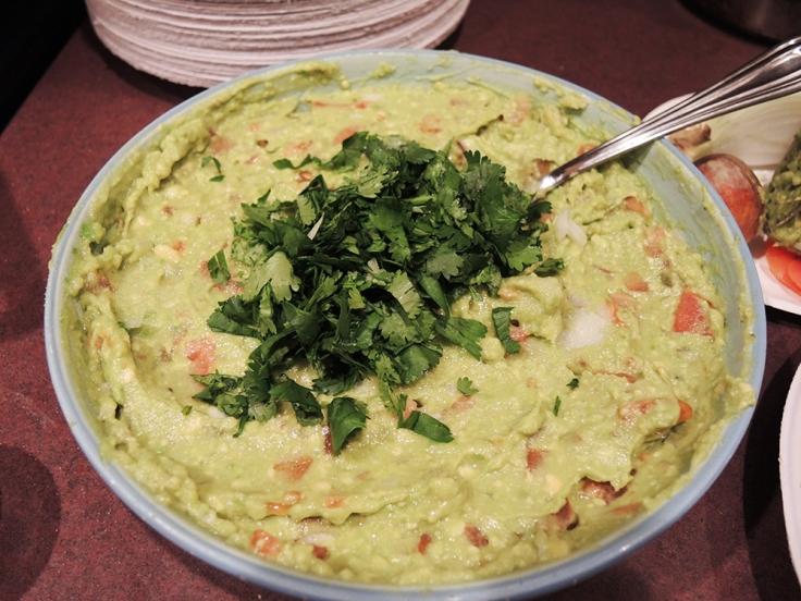 Man Fuel Food Blog - Guacamole - Cilantro