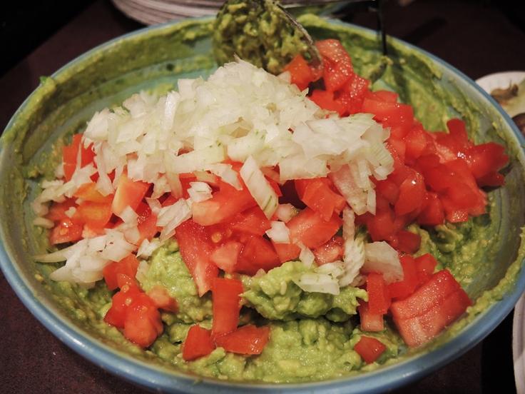 Man Fuel Food Blog - Guacamole - Diced Onions