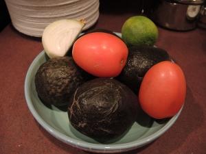 Man Fuel Food Blog - Guacamole Ingredients
