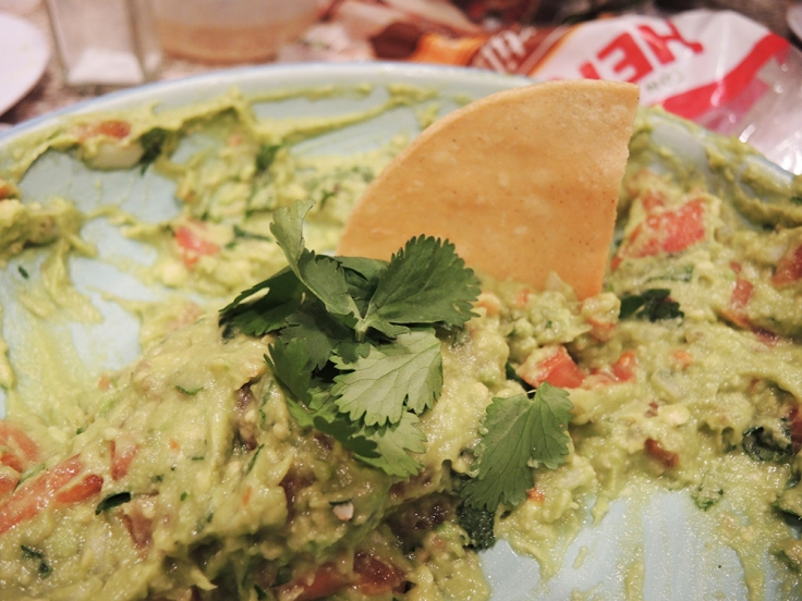 Man Fuel Food Blog - Guacamole with Homemade Chips