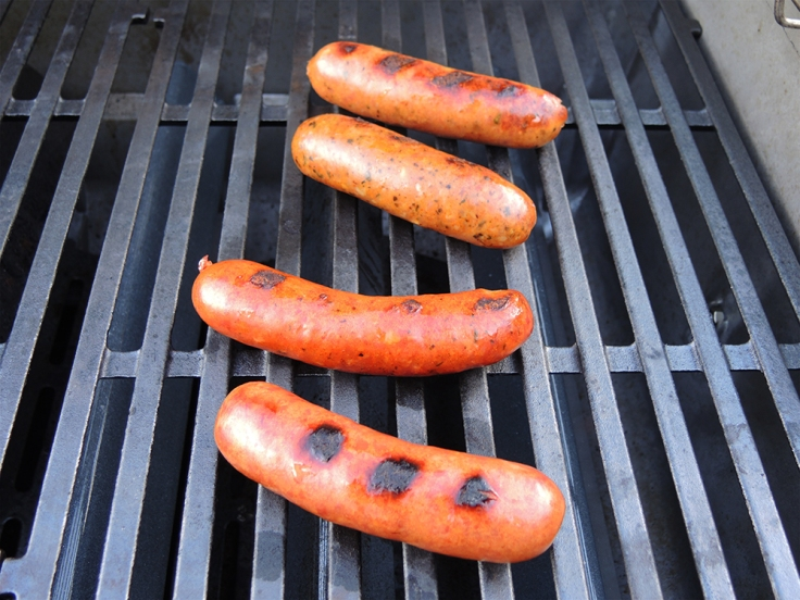 Man Fuel - Food Blog - Kayem Artisan Sausages on the Grill