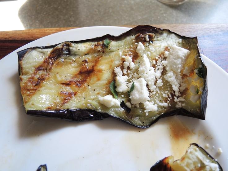 Man Fuel - Food Blog - Rolling Up Stuffed Grilled Eggplant