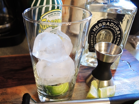 Man Fuel - Food Blog - Tequila Summer Shandy - Adding Ice