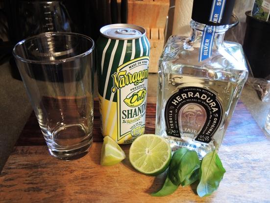 Man Fuel - Food Blog - Tequila Summer Shandy Ingredients