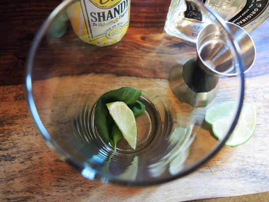Man Fuel - Food Blog - Tequila Summer Shandy with Lime and Basil