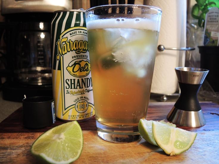Man Fuel - Food Blog - Tequila Summer Shandy