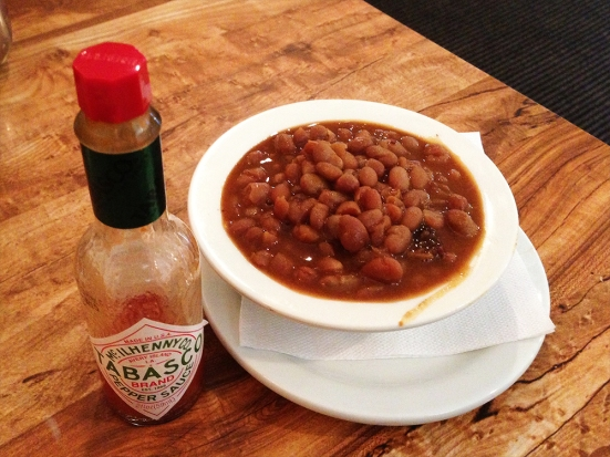 Man Fuel - food blog - James' Breakfast and More - Wrentham, MA - Baked Beans
