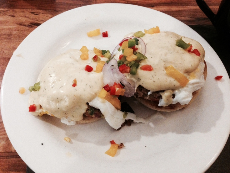 Man Fuel - food blog - James' Breakfast and More - Wrentham, MA - Bennies with a Twist