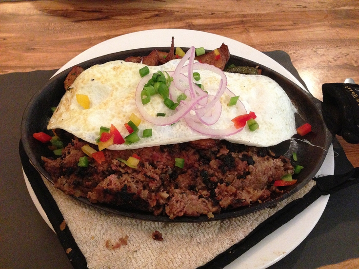 Man Fuel - food blog - James' Breakfast and More - Wrentham, MA - Cast Iron Killer