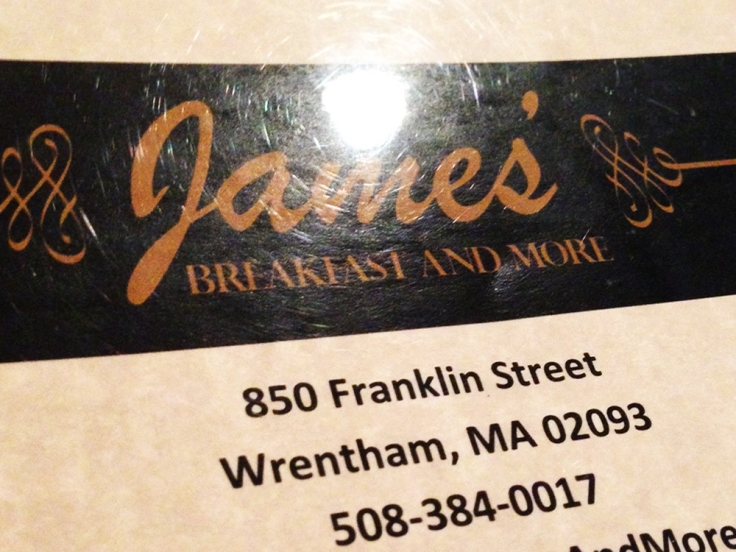 Man Fuel - food blog - James' Breakfast and More - Wrentham, MA