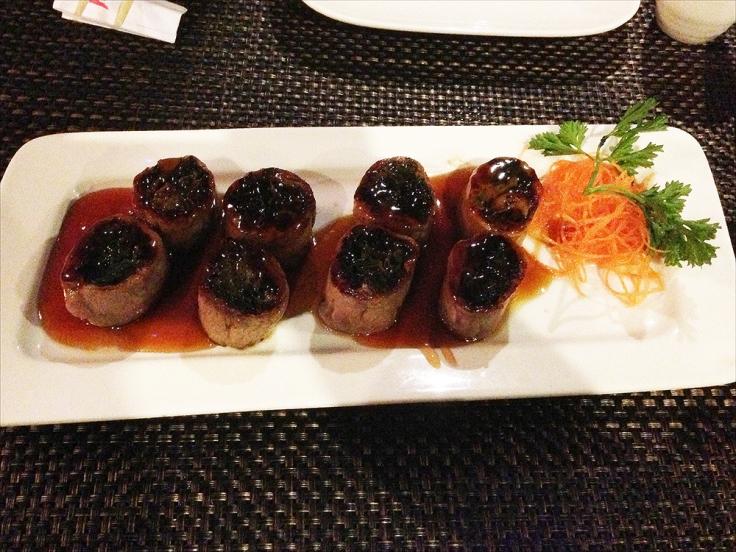Man Fuel - a food blog - Ichigo Ichie - East Providence, RI - Beef Negimaki