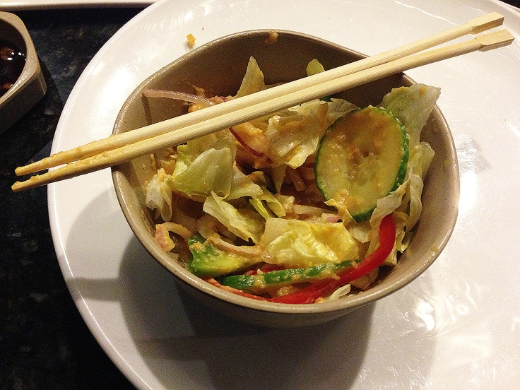 Man Fuel - a food blog - Ichigo Ichie - East Providence, RI - Hibachi House Salad