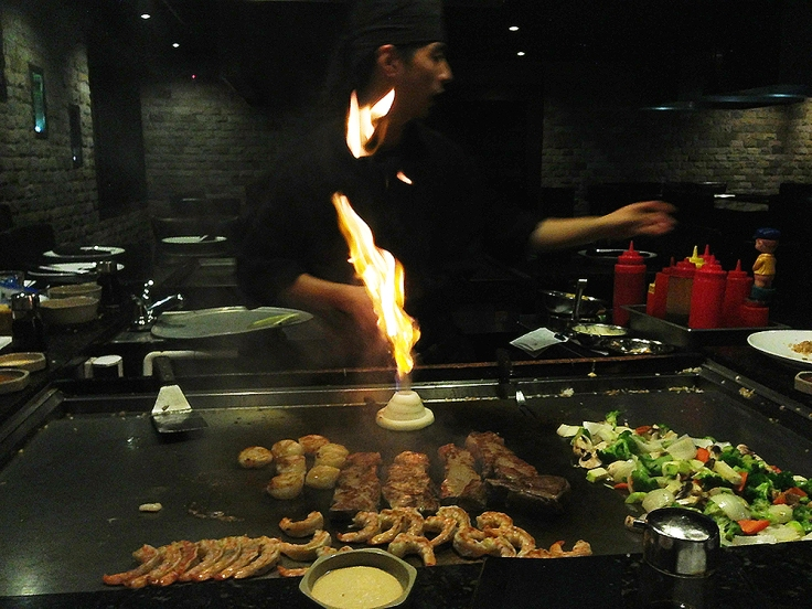 Man Fuel - a food blog - Ichigo Ichie - East Providence, RI - Hibachi