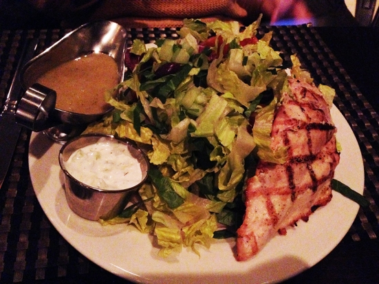 Man Fuel - a food blog - Kitchen Bar - Providence, RI - Grilled Chicken Salad