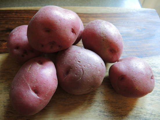 Man Fuel - a food blog - Red Potatoes
