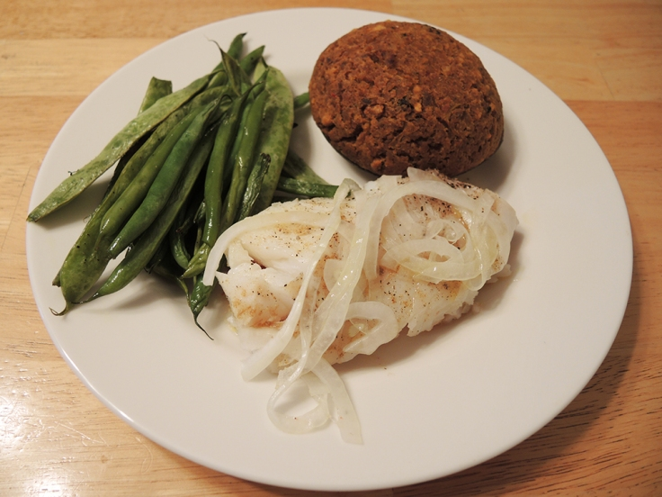 Man Fuel - food blog - Baked Cod Loin Fillet with Tomato, Onion, and Cumin