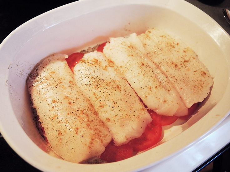 Man Fuel - food blog - Baked Cod Loin Fillets with Salt, Pepper, and Cumin