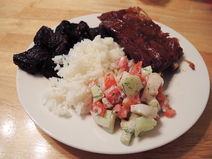 Man Fuel - food blog - Dill Yogurt Summer Salad as a Side Dish