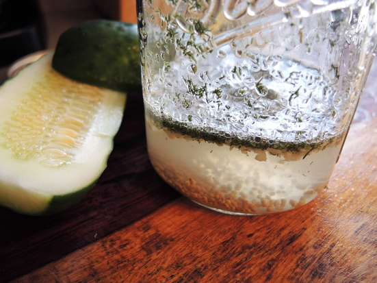 Man Fuel - Food Blog - Pickling Solution for Dill Pickles