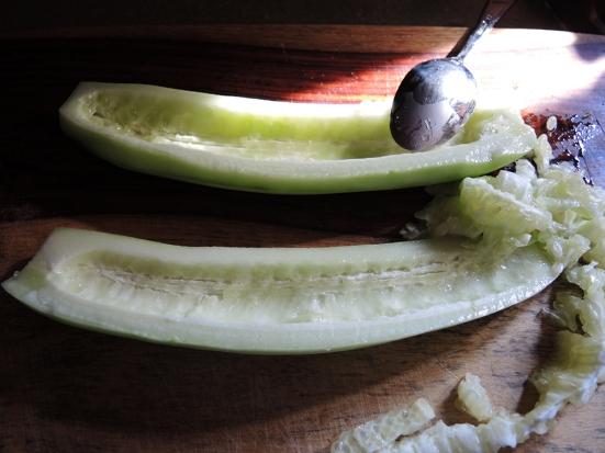 Man Fuel - food blog - seeded cucumbers