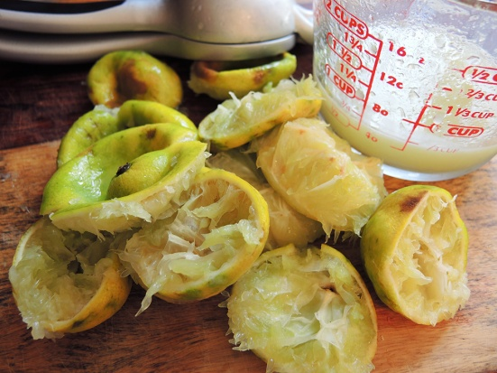 Man Fuel - food blog - Fresh Squeezed Lime Juice