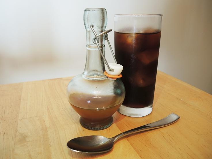 Man Fuel - food blog - Pumpkin Spice Simple Syrup