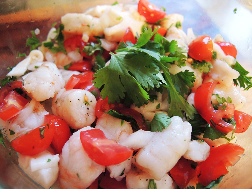 Ceviche recipe home is a kitchen for Shrimp and fish ceviche