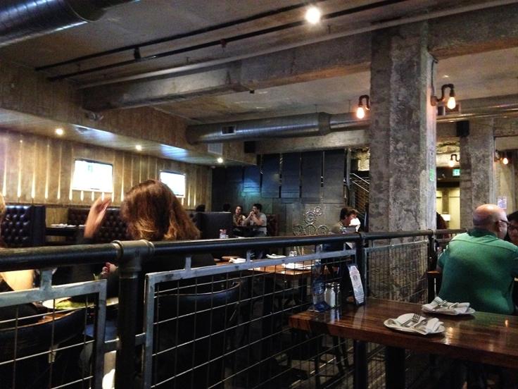 Man Fuel - Food Blog - G Pub - Providence, RI - Interior