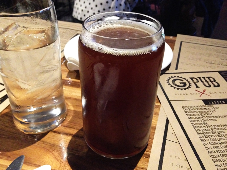Man Fuel - Food Blog - G Pub - Providence, RI - Pumpkin Beer