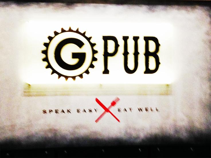 Man Fuel - Food Blog - G Pub - Providence, RI