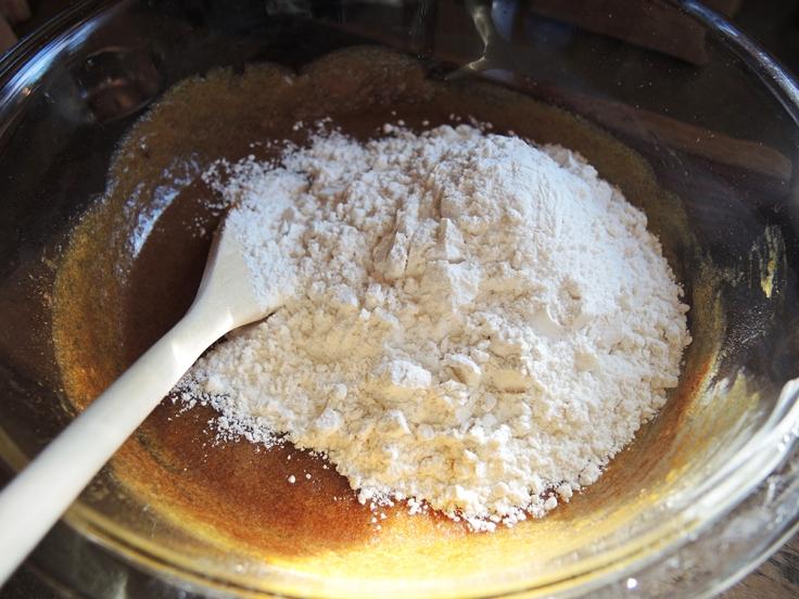 Man Fuel - Food Blog - Pumpkin Biscotti - Adding Flour