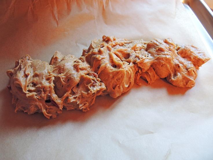 Man Fuel - Food Blog - Pumpkin Biscotti - Raw and Unformed