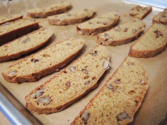 Man Fuel - Food Blog - Pumpkin Biscotti - Ready to Toast