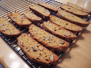 Man Fuel - Food Blog - Pumpkin Biscotti