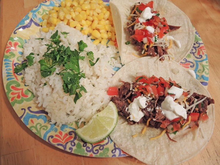 Man Fuel - Food Blog - Beer Simmered Shredded Beef Tacos