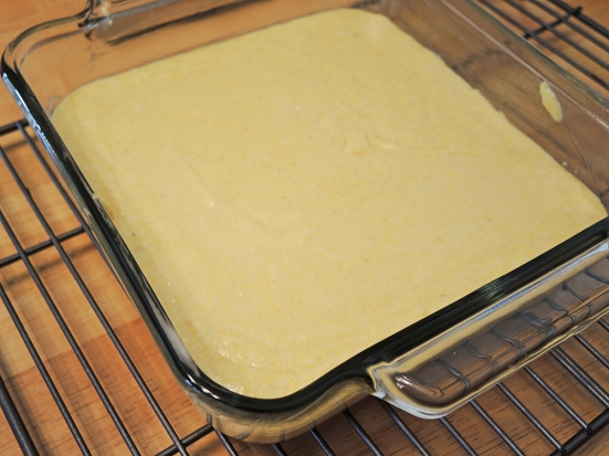 Man Fuel - Food Blog - Cornbread Recipe - 8x8 Baking Dish