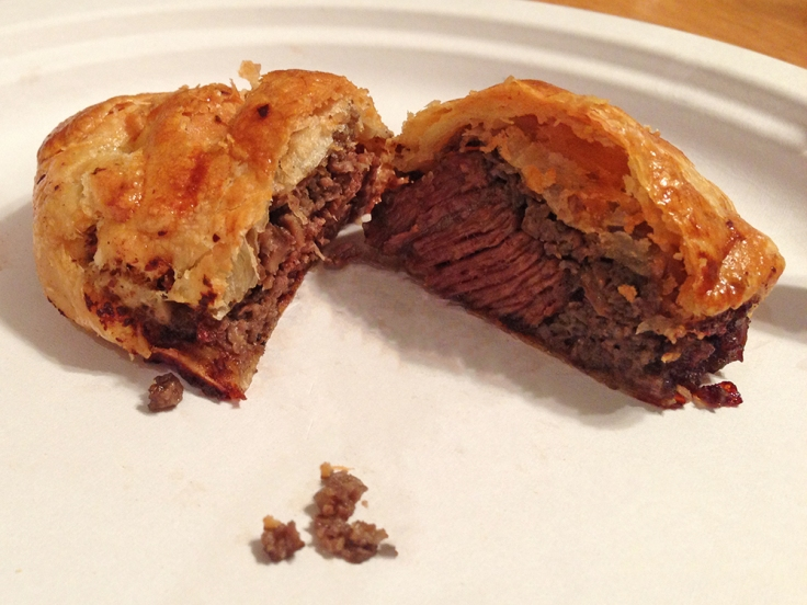 Man Fuel - Food Blog - Mini Beef Wellingtons - Single Serve Interior