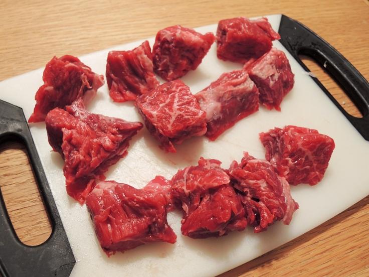 Man Fuel - Food Blog - Mini Beef Wellingtons - Sirloin Tips Cubed
