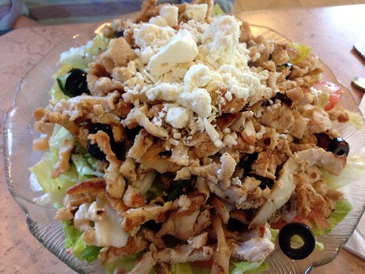 Man Fuel - Food Blog - Joe's Shish Kabob - Fall River, MA - Chicken Salad