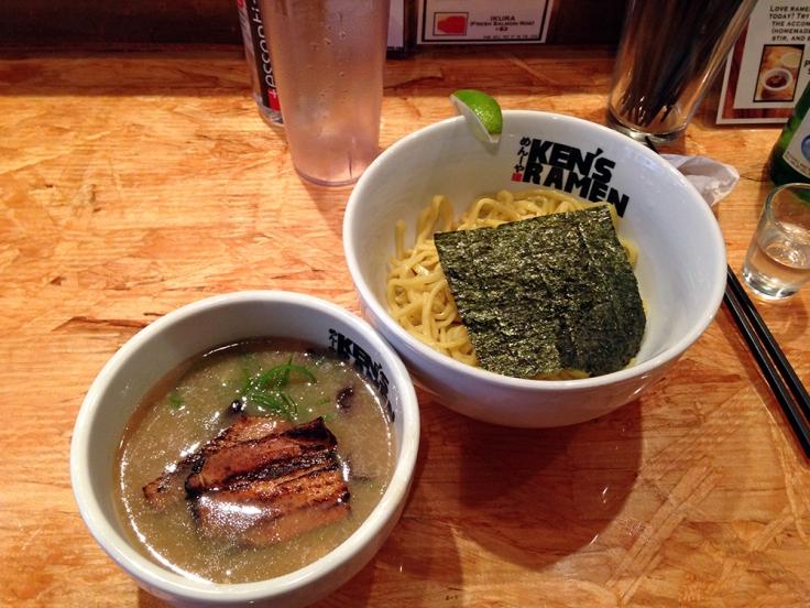 Man Fuel - Food Blog - Ken's Ramen - Providence, RI - Tsukemen