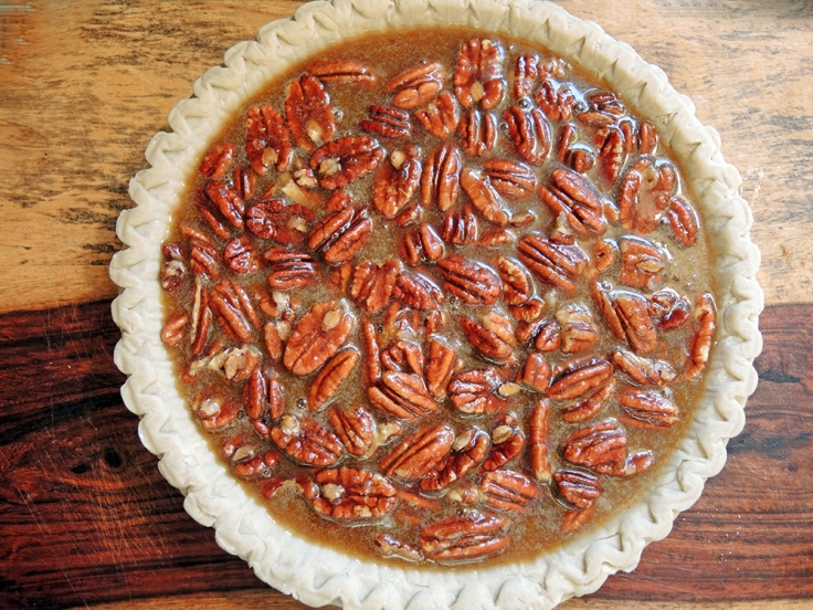 Man Fuel - Food Blog - Pecan Pie Ready to Bake