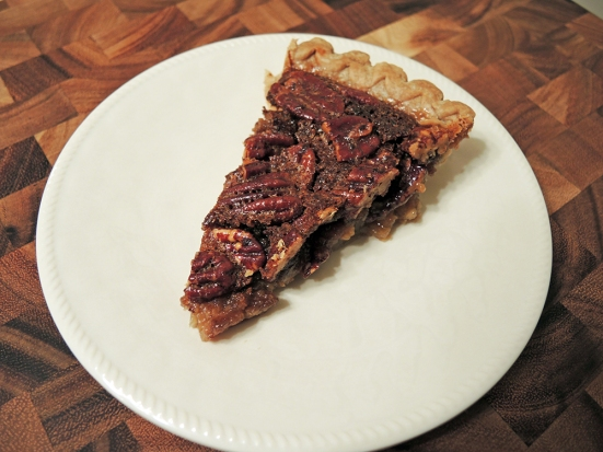 Man Fuel - Food Blog - Pecan Pie slice