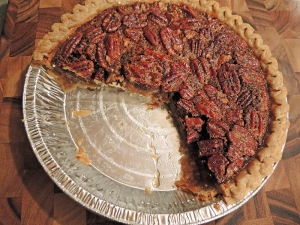 Man Fuel Food Blog - Lighter Pecan Pie Recipe