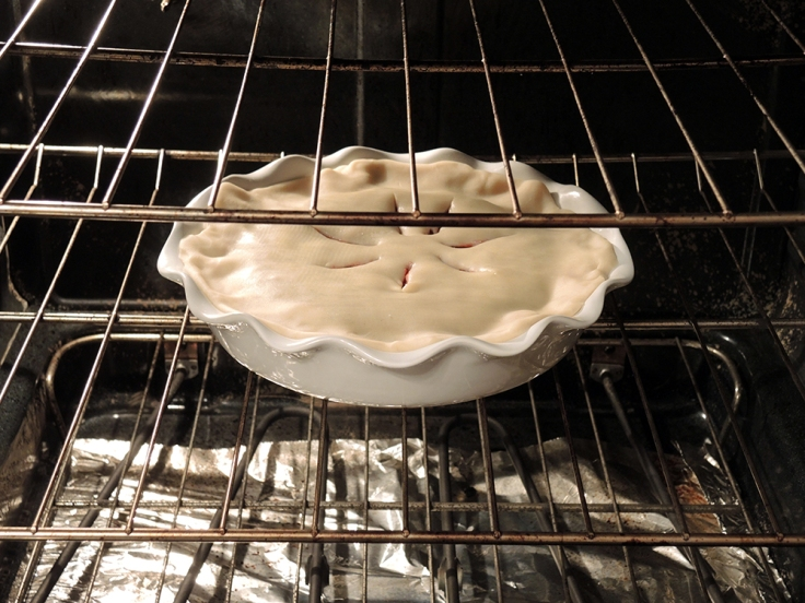 Man Fuel - Food Blog - Baking Cranberry Pie