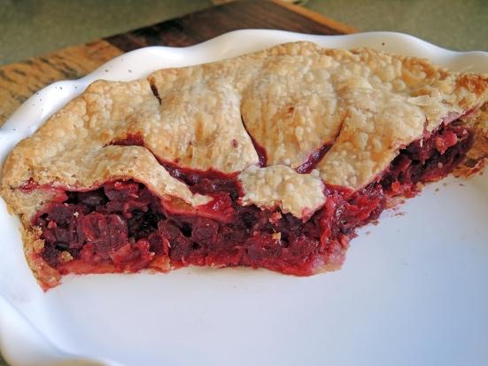 Man Fuel - Food Blog - Cranberry Pie - Filling